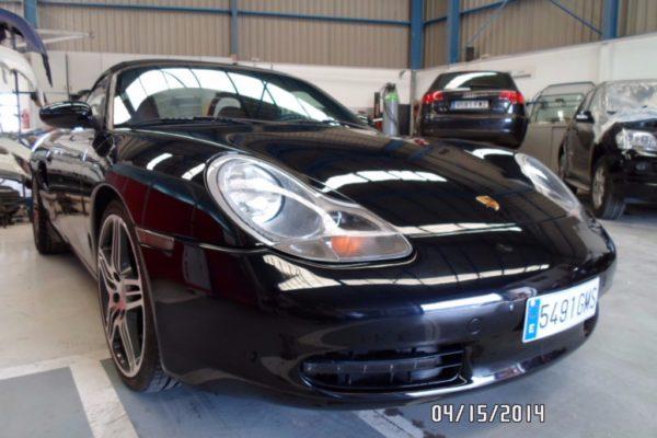 Reparación y repintado de un Porsche