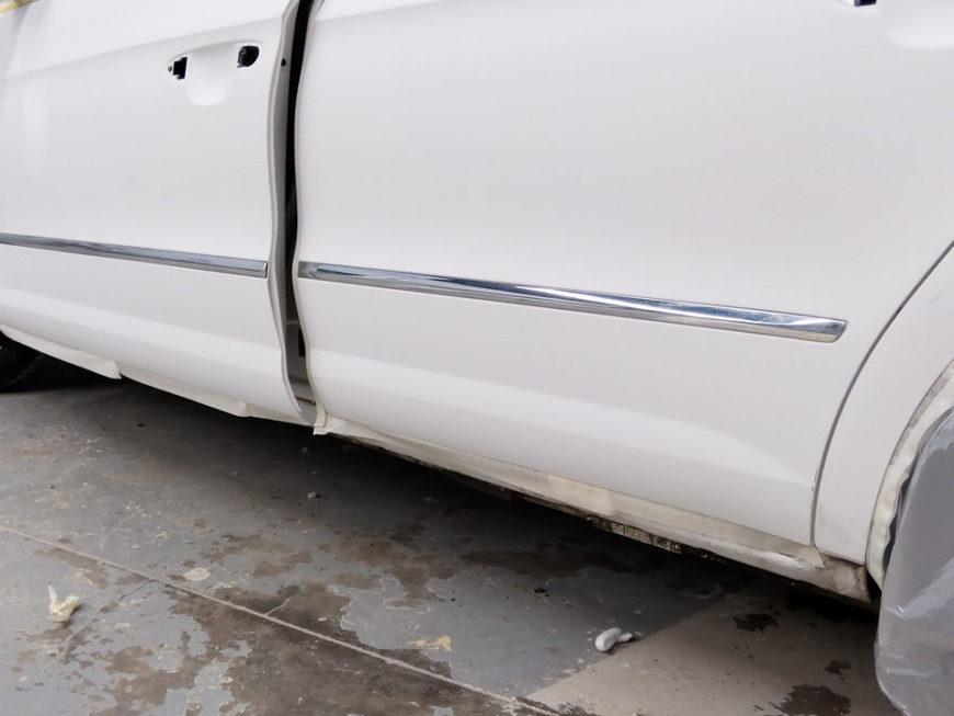 volkswagen passat blanco