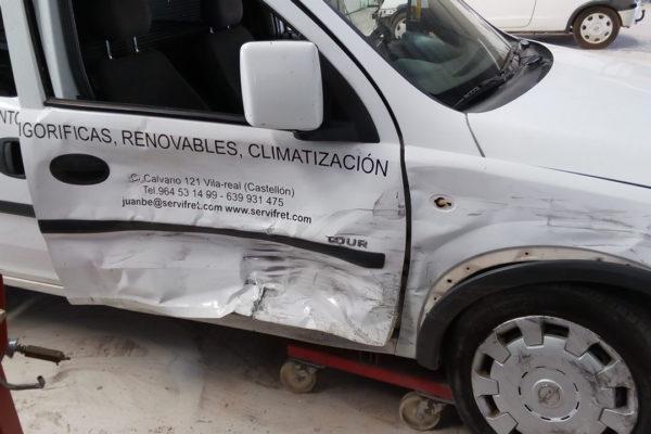 Reparación Opel Combo Blanca
