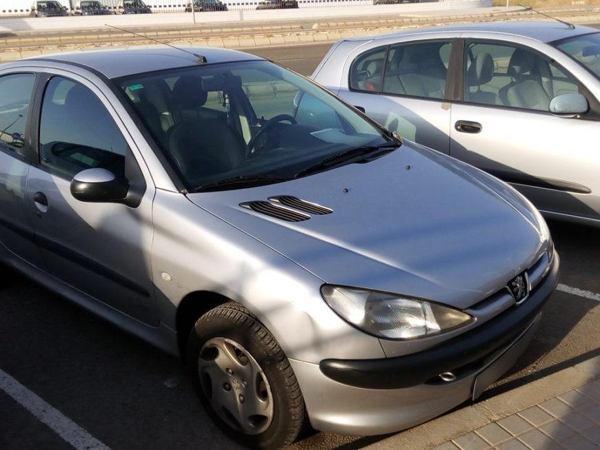 Peugeot 206 Gris