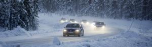 Conducción sobre nieve y hielo.