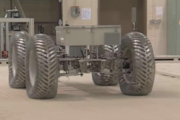 Nuevos neumáticos espaciales de la NASA